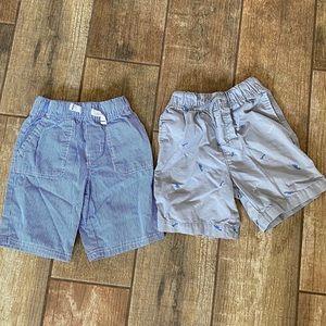 Two Size 5 Boy Shorts